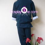 Duo Maxwell from Anime Cosplay Costume back