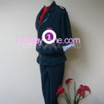 Duo Maxwell from Anime Cosplay Costume side