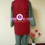 Jiraiya from Naruto Cosplay Costume back