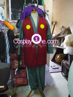 Jiraiya from Naruto Cosplay Costume front prog