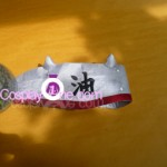 Jiraiya from Naruto Cosplay Costume headband