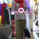 Mako from Avatar Cosplay Costume front prog