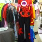 Yasuri Shichika from Anime Cosplay Costume back prog