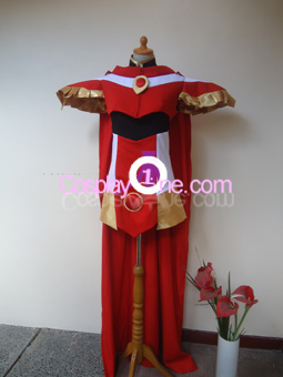 Hikaru Shidou from Magic Knigth Rayearth Cosplay Costume front