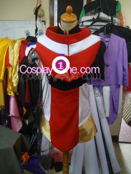 Hikaru Shidou from Magic Knigth Rayearth Cosplay Costume front prog