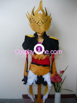 Justicar Syndra from League of Legends Cosplay Costume front