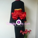 Red Miketsukami Cosplay Costume back