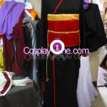 Red Miketsukami Cosplay Costume front prog