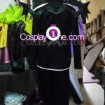 Sora version Halloween from Kingdom Hearts Cosplay Costume back prog