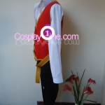 Twisted Fate II from League of Legends Cosplay Costume side in