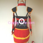 Foxfire Ahri from League of Legends Cosplay Costume back