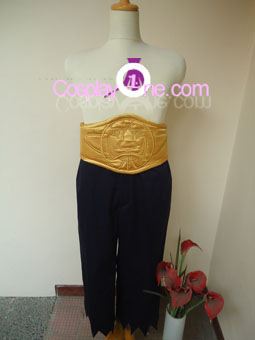 Ay The 4th Raikage from Naruto Cosplay Costume front