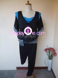Modern Day Kitana from Mortal Kombat Cosplay Costume front