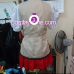 School Rumble Spring Cosplay Costume back prog