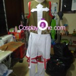 Elsword from The MMO Gameplay Cosplay Costume front prog