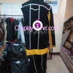 Kirito from The Sword Art Online Cosplay Costume back prog