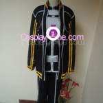 Kirito from The Sword Art Online Cosplay Costume front
