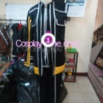 Kirito from The Sword Art Online Cosplay Costume front prog
