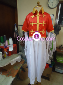 Zero Jr from The Nonary Game Cosplay Costume front2 prog