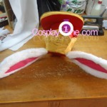 Zero Jr from The Nonary Game Cosplay Costume hat prog