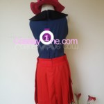 Hero Girl from Pokemon X and Y Gameplay 3D Cosplay Costume back