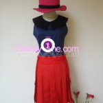 Hero Girl from Pokemon X and Y Gameplay 3D Cosplay Costume front