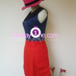 Hero Girl from Pokemon X and Y Gameplay 3D Cosplay Costume side