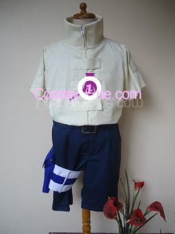 Neji Hyuga from Naruto Cosplay Costume front