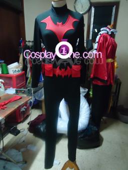 Batwoman Cosplay Costume front prog