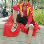 Best Monkey D Luffy fron One Piece Cosplay Costume Pose