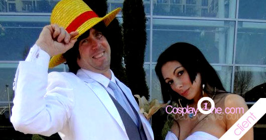 Client Photo Boa Hancock (wedding dress) from One Piece Cosplay Costume