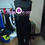 Greed from Fullmetal Alchemist Cosplay Costume front in prog