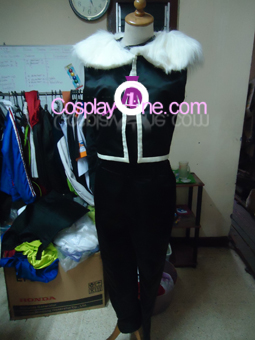 Greed from Fullmetal Alchemist Cosplay Costume front prog