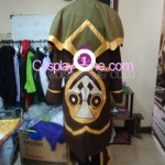High Noon Twisted Fate Cosplay Costume back prog