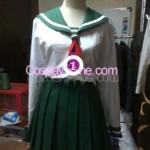 Kagome Higurashi from Inuyasha Cosplay Costume front prog