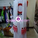 Kyubey from Puella Magi Madoka Magica Cosplay Costume back prog