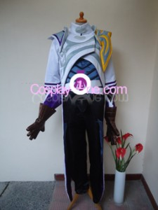 Lucian The Purifier from (League of Legends) Cosplay Costume front