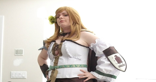 Plus Size Cosplayer Nomad Hungary Cosplay Costume