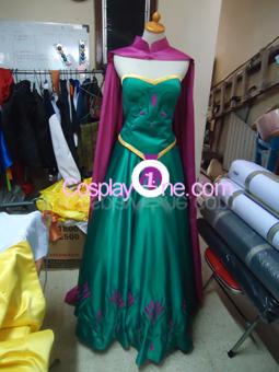 Elsa Coronation Drees front prog1 Cosplay Costume
