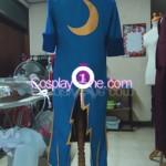 Date Masamune One Eye Dragon Cosplay Costume back prog