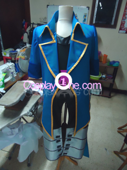 Date Masamune One Eye Dragon Cosplay Costume front prog