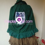 SNK Lolita Uniform back Cosplay Costume