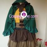 SNK Lolita Uniform front Cosplay Costume
