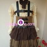 SNK Lolita Uniform front in 2 Cosplay Costume