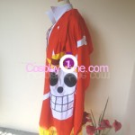 Monkey D Luffy (One Piece) Cosplay Costume side