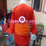 Monkey D Luffy from One Piece Cosplay Costume back prog