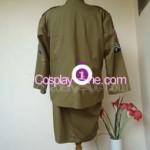 Army Girl Cosplay Costume back