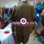 Army Girl Cosplay Costume back prog