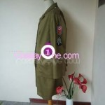 Army Girl Cosplay Costume side