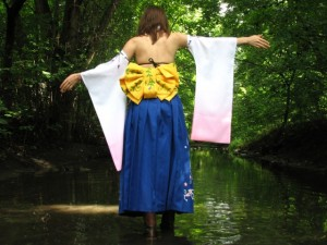 Yuna from Final Fantasy X Cosplay Costume